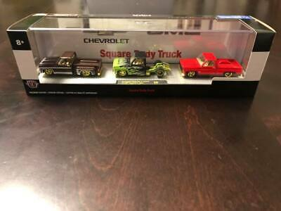 $ CDN179.99 • Buy M2 Machines Auto Haulers Square Body Truck Chase 750 GMC Chevy Walmart 3 Pack