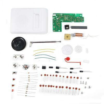 Electronic AM/FM Radio CF210SP Stereo DIY Kit 76-108MHz Assemble Set For Learner • 4.48£