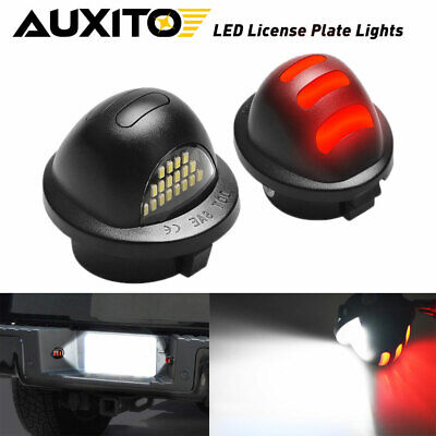 $16.99 • Buy Pair AUXITO Step Bumper License Plate SMD LED Light Lamp For Ford F150 F250 F350