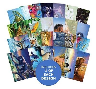 Hunkydory The Little Book Of Perfect Planet Sample Pack 24 Sheets X A6 150gsm • 2.99£