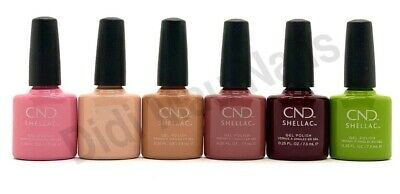 AU23.41 • Buy CND Shellac UV Gel Polish .25 Oz - AUTUMN ADDICT COLLECTION FALL 2020 NEW!