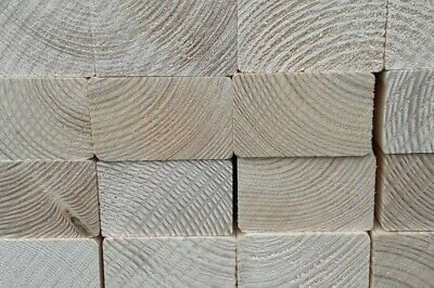CLS - 3  X 2  - 63mm X 38mm - Untreated Planed C16 • 4£