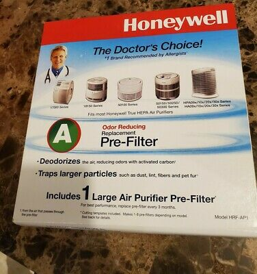 Honeywell Filter A HRFAP1 Universal Carbon Air Purifier Replacement PreFilter • 15.42£