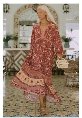 AU400 • Buy Spell And The Gypsy Portobello Wine Gown Size XL.       #46