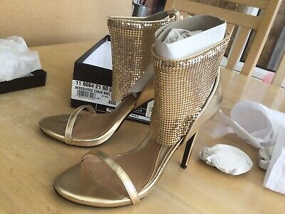 Missguided Chain Mail Cuff Size 7 Gold Shoes.                   C • 6£