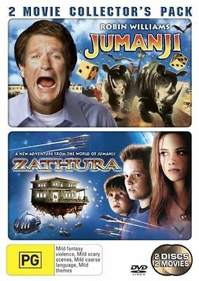 AU9.90 • Buy DVD (MULTI) Jumanji / Zathura - 2 Movie Collection Pack - FREE POST