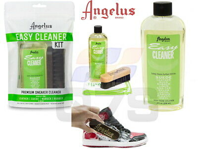 £8.99 • Buy Angelus Brand Easy Cleaner Kit For Shoes Leather Suede Sneaker Shoe Cleaner Kit