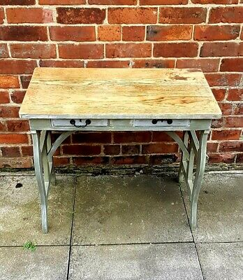 Console Table Painted In Annie Sloan Chateau Grey • 75£