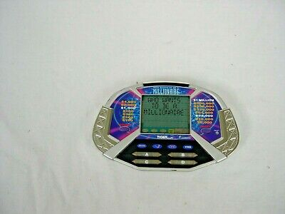 £10.61 • Buy Who Wants To Be A Millionaire Handheld Game By Tiger