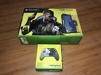 AU1299 • Buy Cyberpunk 2077 Xbox One X Console And Extra Cyberpunk 2077 Controller Brand New