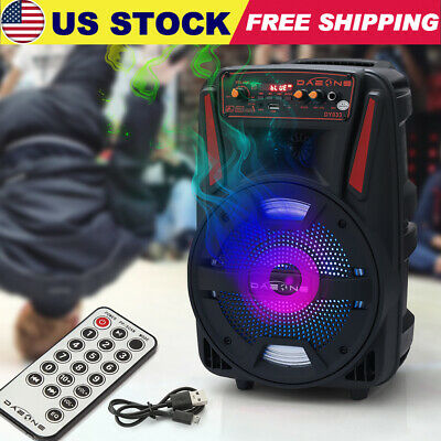 $38.99 • Buy 8  BT Party 1000W Speaker System Bluetooth Big Led Portable Stereo Tailgate Loud