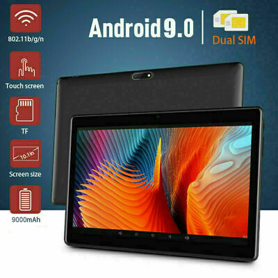 AU109.99 • Buy 10.1 Inch Bluetooth Android 9.0 Tablet 4+64GB Phablet PC Dual Camera IPS WiFi AU