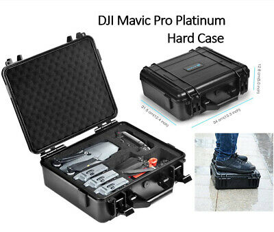 AU117.04 • Buy Carrying Case For DJI Mavic Pro Platinum, Mavic Pro Hard Waterproof Hold Battery