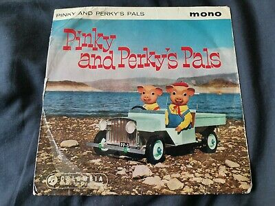 Pinky And Perky's Pals Very Rare- Original Mono 7  Ep  Picture Sleeve • 1.99£