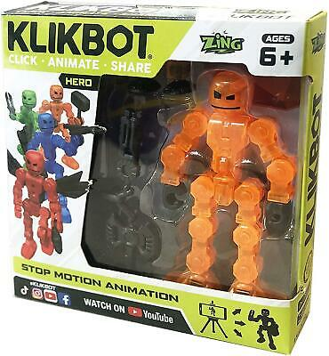 £6.99 • Buy Stikbot Klikbot Villain & Heroes Stop Motion Animation Action