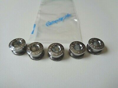*NOS Vintage Campagnolo Record Track/pista Chainring Bolts Set* • 65£
