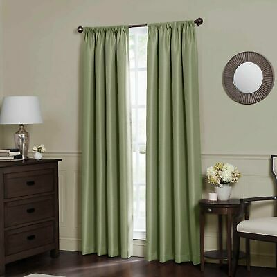 $29.95 • Buy Emery 95-Inch Rod Pocket Insulated Total Blackout Window Curtain Panel In Sage
