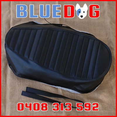 AU102.94 • Buy YAMAHA R5 DS7 1970 70 1971 71 1972 BLACK Seat Cover & STRAP **Aust Stock** YP722
