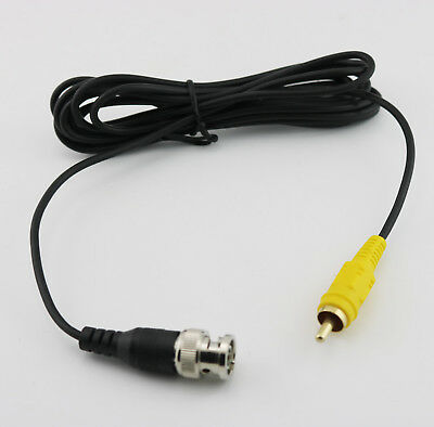 $ CDN4 • Buy BNC Male To RCA Male CCTV Surveillance Security Camera Video Cable Cord 2.5m