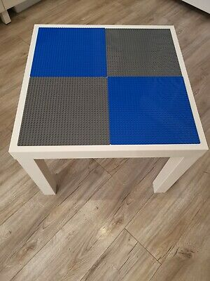 Lego Table Brand New Blue And Grey Base Plate Organised Lego Play Set Up • 33£