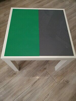 Lego Table Brand New Grey And Green Base Plate Organised Lego Play Set Up • 33£