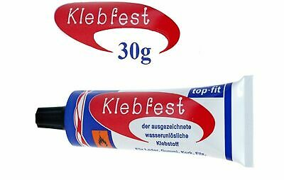 Klebfest Extra Strong Shoe Glue Repair Contact Adhesive Neoprene Pointe Boot 30g • 2.95£