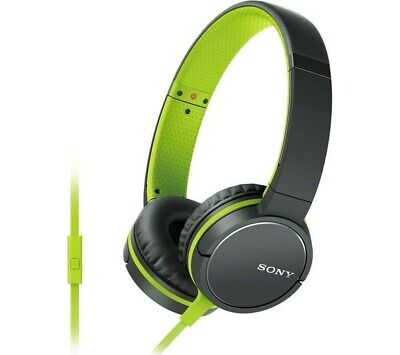 Sony MDR-ZX660AP Lightweight Over-Ear Headphone With Smartphone Control - Green. • 29.99£