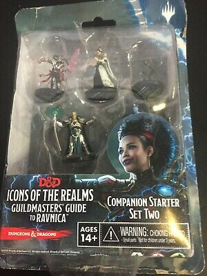 £19.99 • Buy Dungeons And Dragons Miniatures Guildmasters Guide To Ravnica Starter Set Two