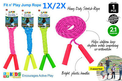 AU7.90 • Buy 2.1m Skipping Rope Jump Boxing Gym Home Exercise Fitness Adult Kids Jumping Rope