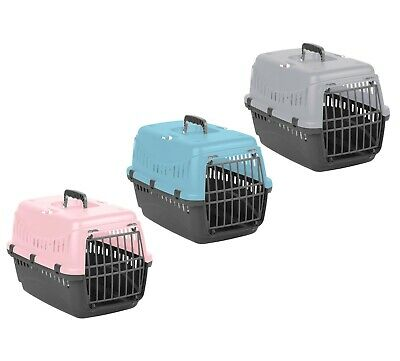 Pet Carrier Large Cat Dog Puppy Portable Transporter Cage Box Safe Travel Crate • 12.99£