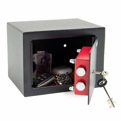 £27.99 • Buy Wolf Safe Mini High Security Vault Home Office Money Cash Safety Box With Key