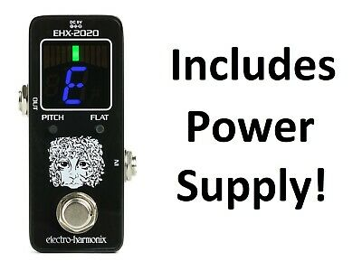$ CDN61.24 • Buy New Electro-Harmonix EHX-2020 Tuner Guitar Effects Pedal W/Power Supply