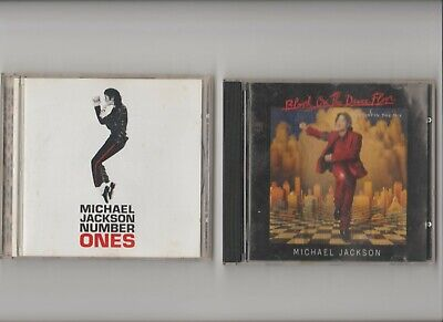 Michael Jackson : Blood On The Dance Floor + Number ONES  / TWO CD Albums  • 3.29£