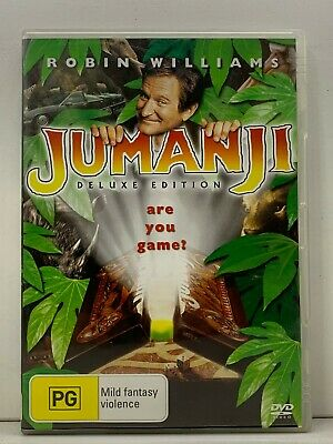 AU9.99 • Buy DVD - Jumanji - Deluxe Edition - FREE POST #V1