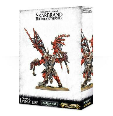 AU184.95 • Buy Daemons Of Khorne Skarband The Bloodthirster AOS