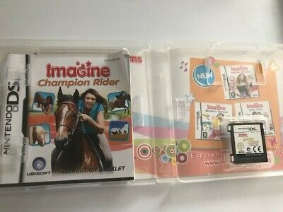 IMAGINE CHAMPION RIDER Nintendo DS Game - Complete & Tested  • 4.95£
