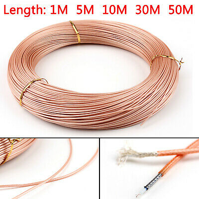 AU39.99 • Buy RG178 RF Coaxial Cable Connector 50ohm M17/93-RG178 Coax Pigtail BS4