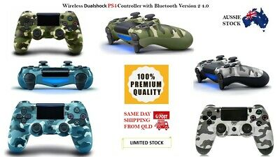 AU56.99 • Buy Bluetoot PS4 DualShock  Playstation 4 Wireless Controller V2 Version 2 QLD Stock