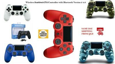 AU55.99 • Buy Multi Bluetoot PS4 DualShock  Playstation 4 Wireless Controller V2 Version 2 QLD