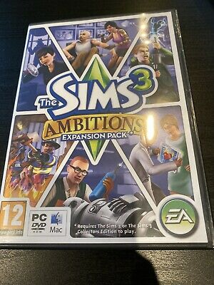 The Sims 3 Ambitions Pc Cd Rom • 4.42£