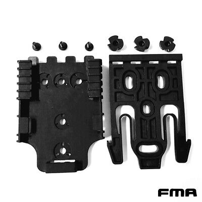 $ CDN17.96 • Buy FMA Tactical Quick Locking System Kit Black Safariland Holster QLS Kit Paintball