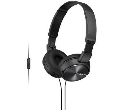 Sony Headphones MDR-ZX310AP Foldable Stereo Headset Earphones-Blue. With Mic. • 13.99£