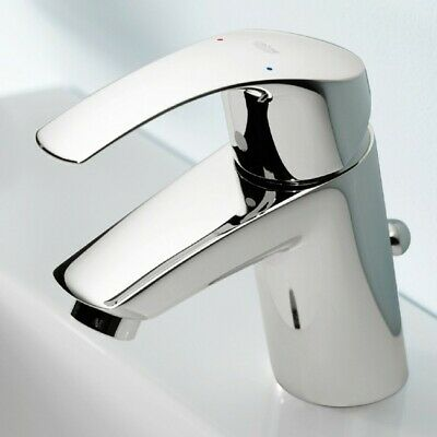Grohe Eurosmart Bathroom Basin Mono Mixer Tap With Pop-up Waste And Tails Flex  • 65£