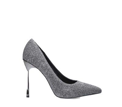 Kurt Geiger Size 4 / 37 Pewter High Heel Court Shoes Miss KG £79 • 21.60£