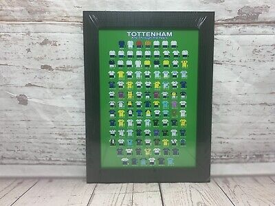 Tottenham Hotspur Football CLUB Shirt Framed Picture Football Kit Old New Spurs • 12.99£