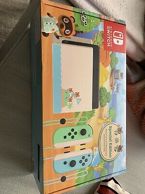 $ CDN847.50 • Buy Nintendo Switch Animal Crossing New Horizons Special Edition Console AU Stock