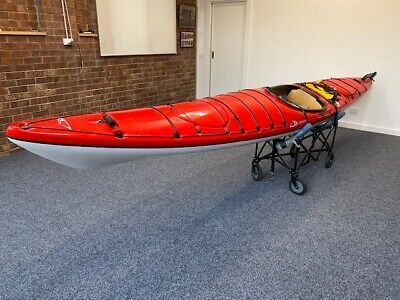 AU1999 • Buy Kayak 16 Feet Delta - Red - Including Trolley & Accessories