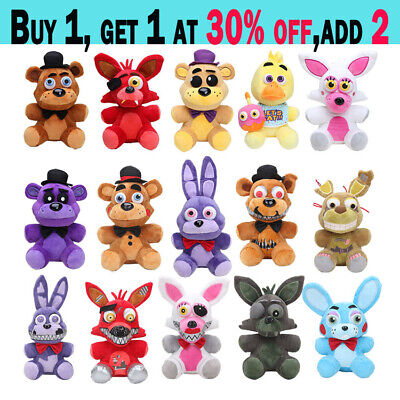 AU13.59 • Buy NEW Five Nights At Freddy's FNAF Horror Game Plush Doll Kids Plushie Toy Gift AA