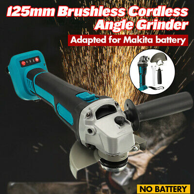 125mm Brushless Cordless Impact Angle Grinder Polisher For Makita Battery Tool • 26.99£