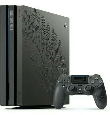 AU1000 • Buy The Last Of Us Part 2 II Limited PS4 Pro Console, Game Included, Still In Eb Box